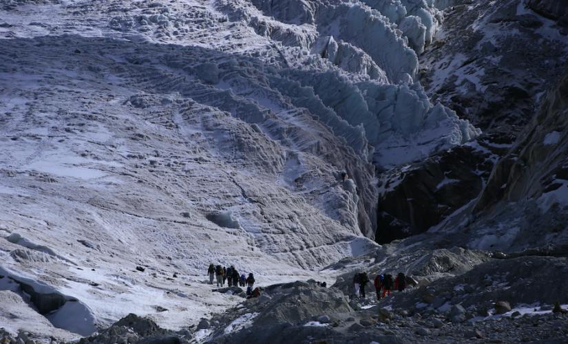 GlacierSchool Crevasses,glaciersandclimatology