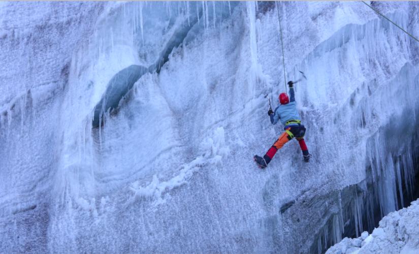 GlacierSchool Ropingupandcrevassefalltraining