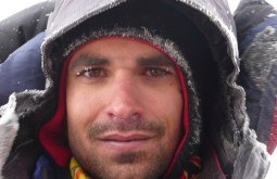 Pedro no vulcão Sajama Bolívia