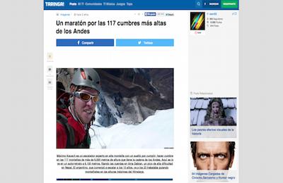Un maratón por las  cumbres más altas de los Andes Taringa  copy