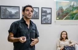 Alex lecturing in Rio