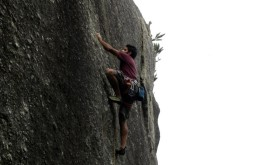 Rock climbing course in Rio
