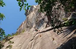 Rock climbing in Salinas